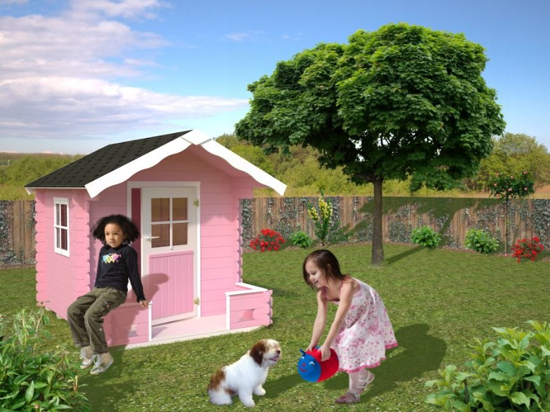 De casitas de madera para ni as imagui for Casita infantil jardin